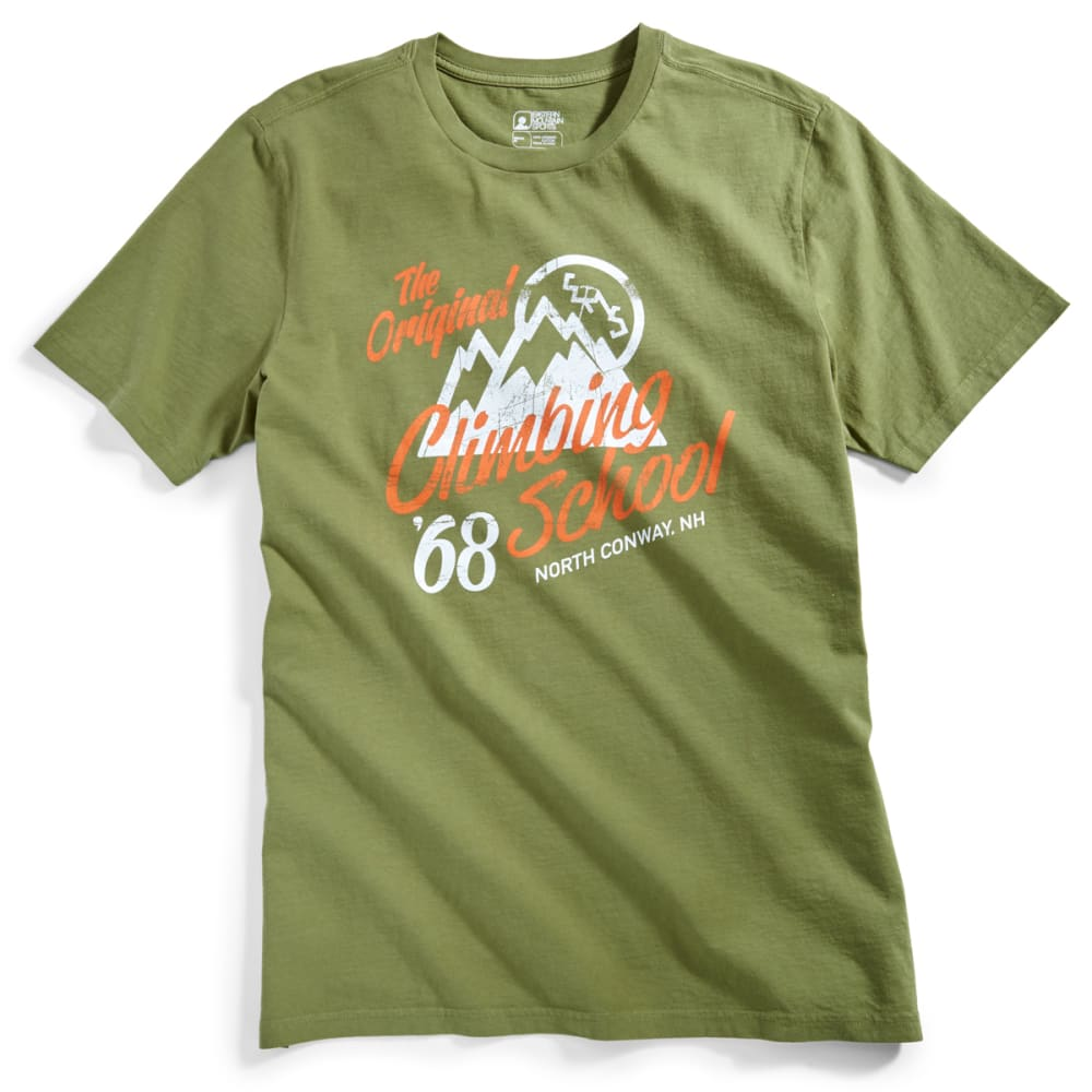 Ems(R) Men's Climbing School Graphic Tee - Green, S