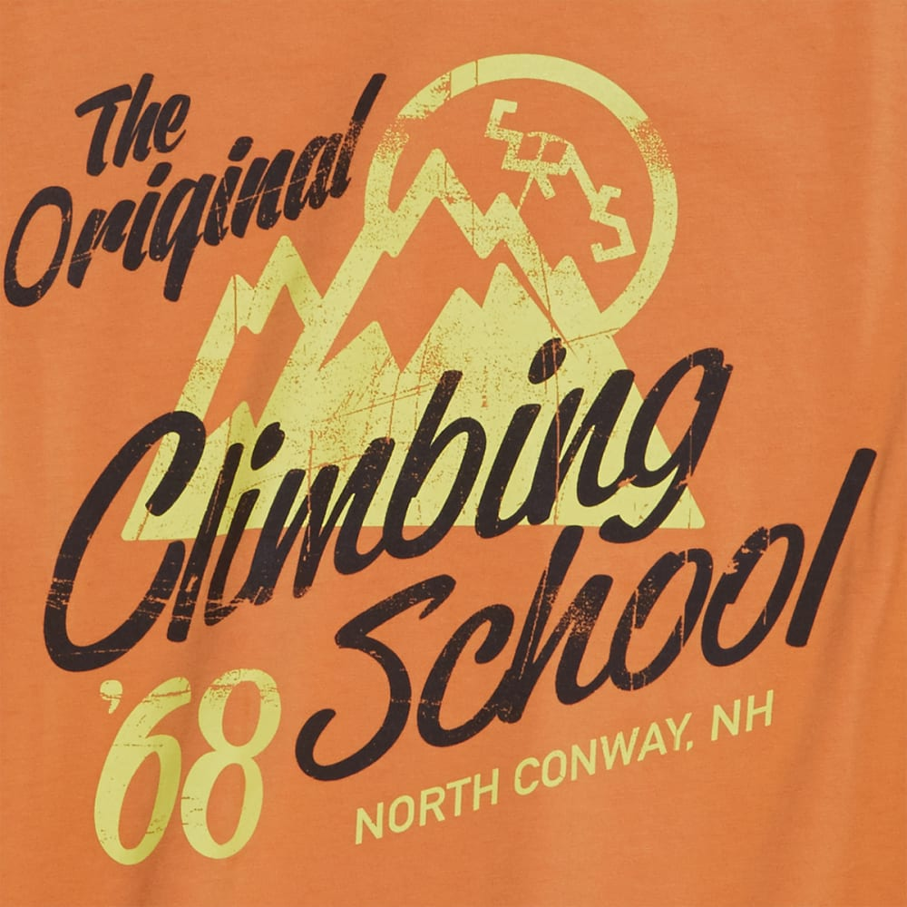 EMS® Men's Climbing School Graphic Tee - APRICOT