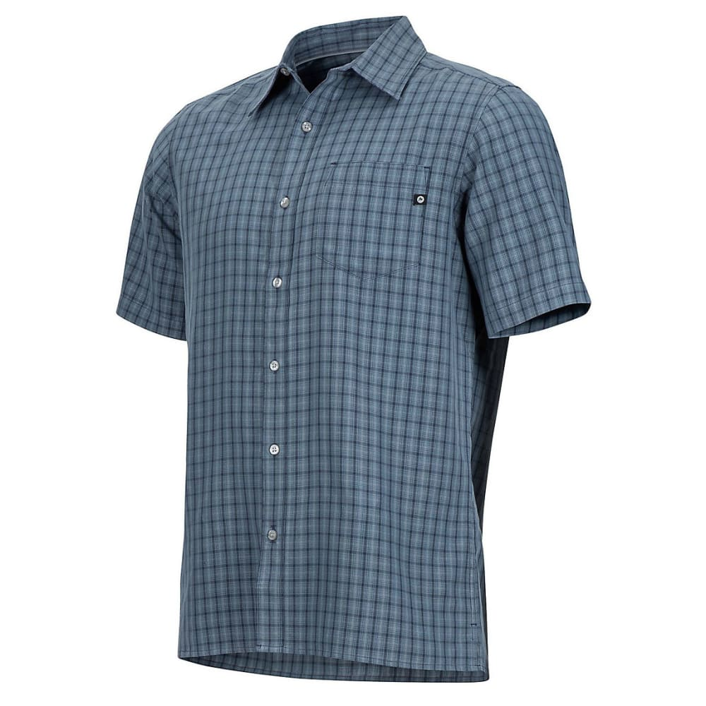 MARMOT Men's Eldridge Shirt - 1515-STEEL ONYX