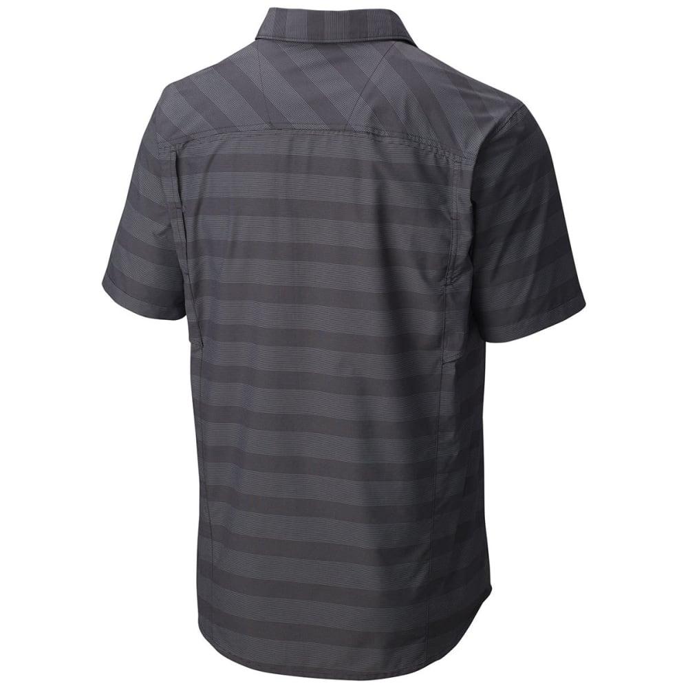 COLUMBIA Men's Silver Ridge   Multi Plaid Short-Sleeve Shirt - 012-SHARK STRIPE