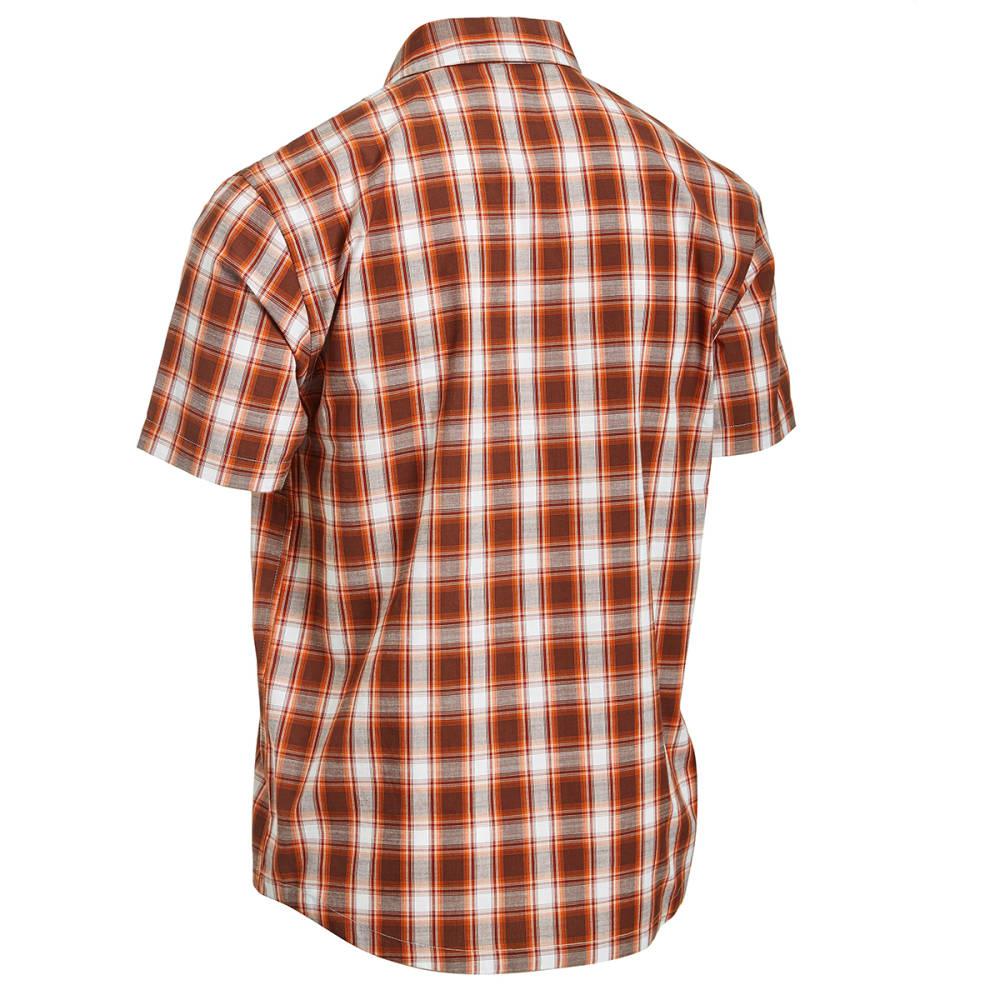 EMS® Men's Ranger Short-Sleeve Plaid Shirt - CAPPUCCINO