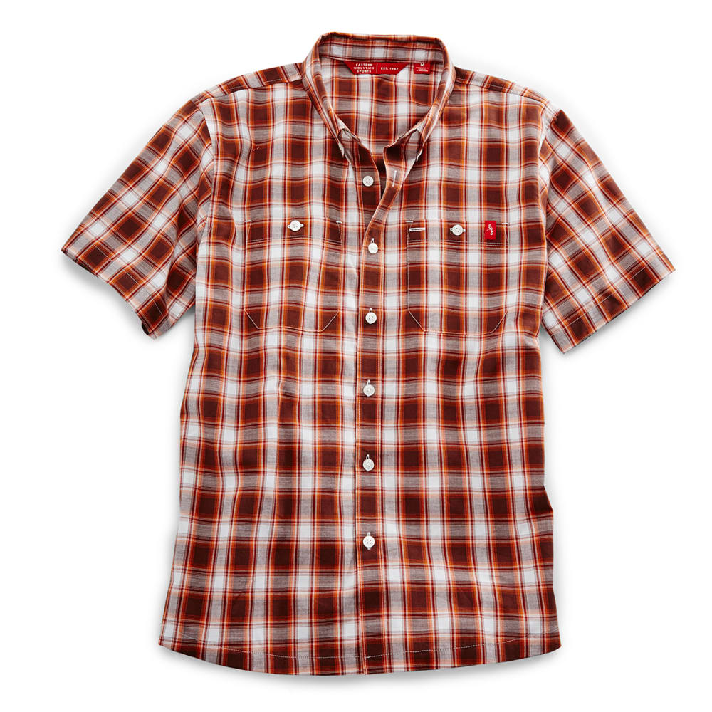Ems(R) Men's Ranger Short-Sleeve Plaid Shirt - Brown, M