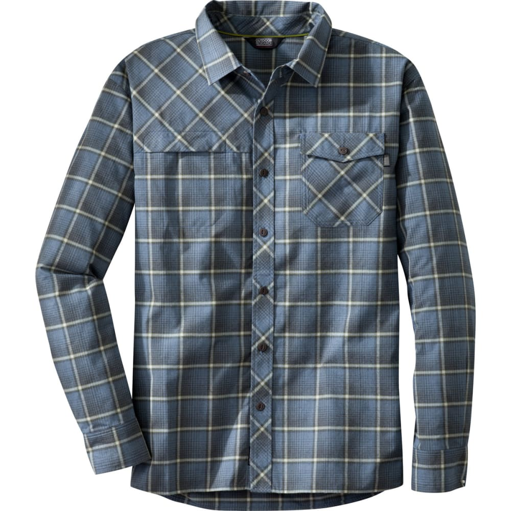 OUTDOOR RESEARCH Men's Tangent Shirt - DUSK/HOPS