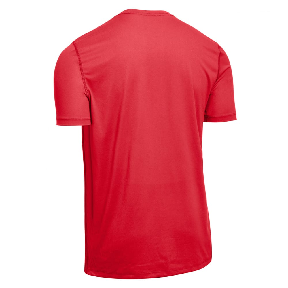 EMS Men's Techwick Essentials Short-Sleeve Crew - RIBBON RED