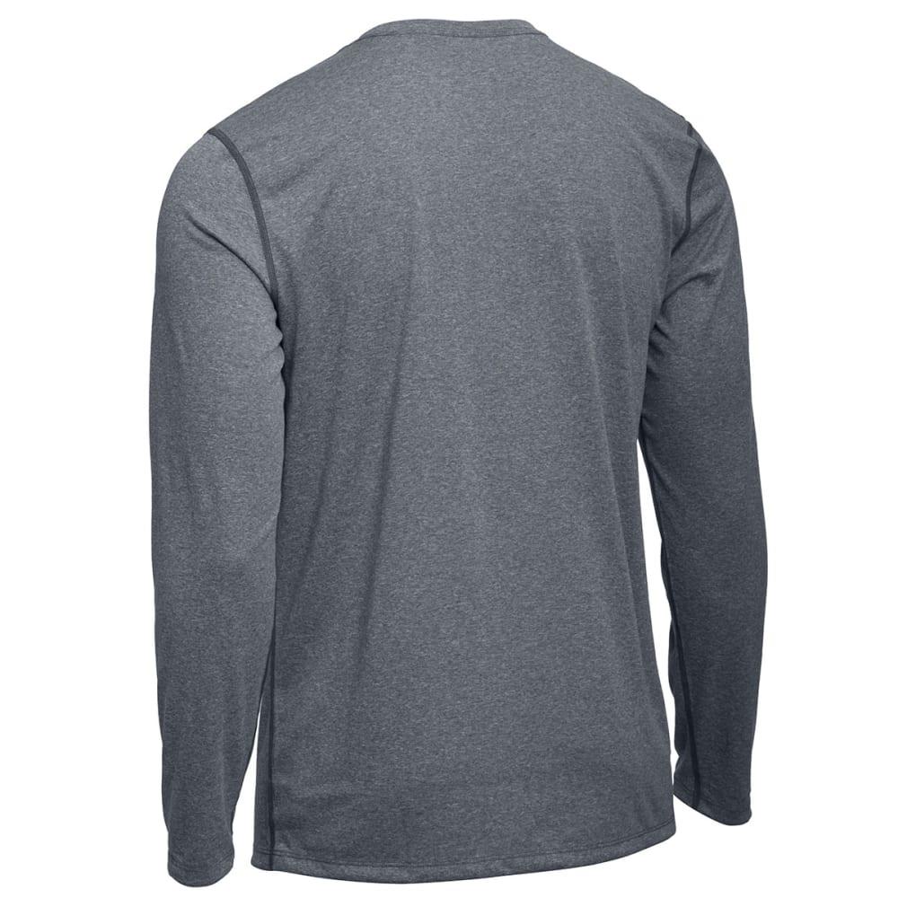 EMS® Men's Techwick® Essentials Long-Sleeve Crew - NEUTRAL GREY