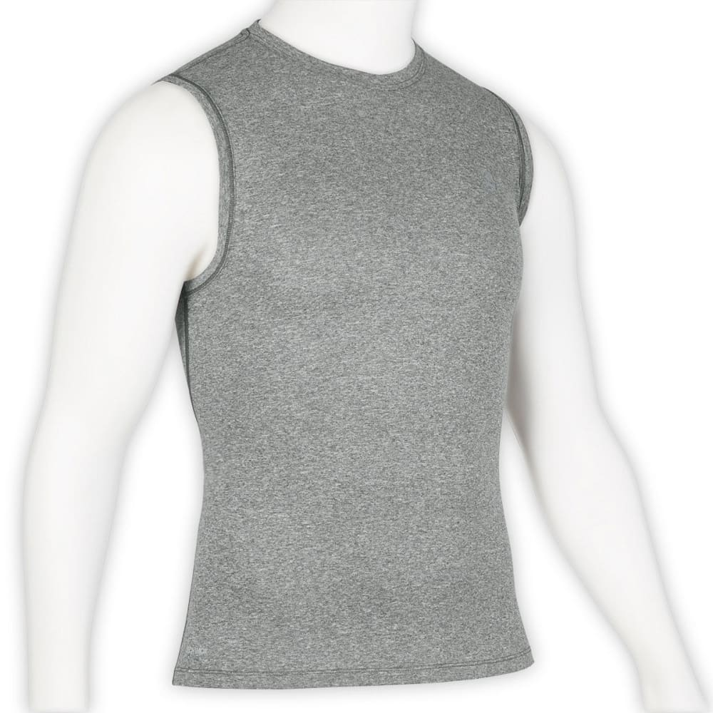 EMS Men's Techwick Essentials Sleeveless Shirt - NEUTRAL GREY HEATHER