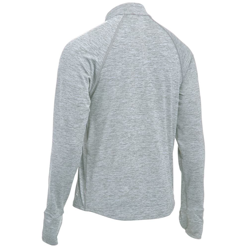 EMS® Men's Techwick® Transition  ½ Zip   - HIGH RISE GREY HEATH