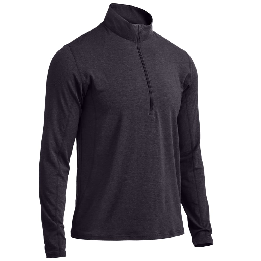 EMS® Men's Techwick® Journey  ¼-Zip   - BLACK HEATHER