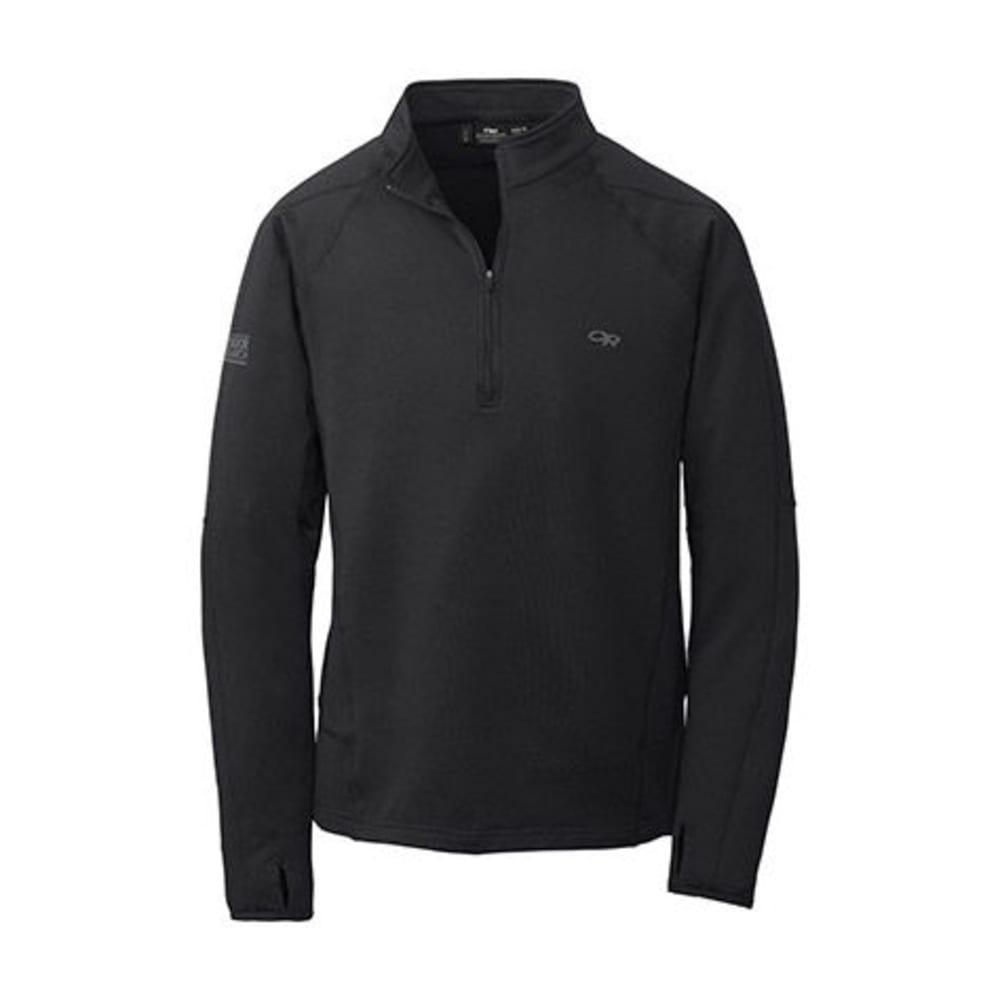 OUTDOOR RESEARCH Men's Radiant LT Zip Top - 0001-BLACK