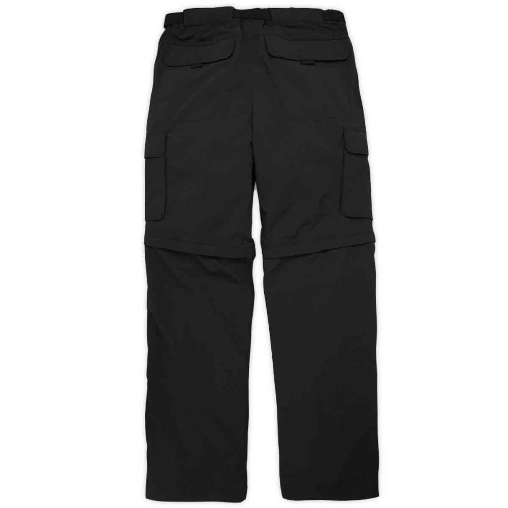 EMS Men's Camp Cargo Convertible Pants - BLACK