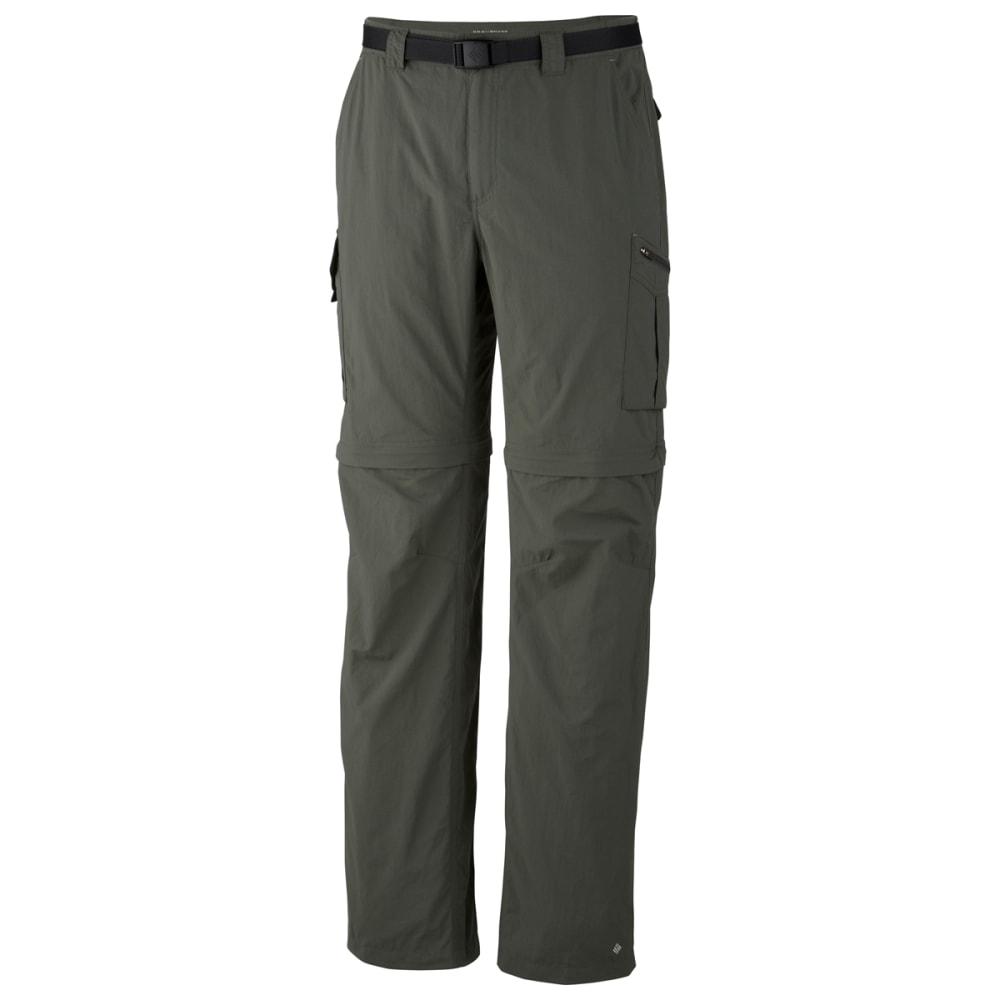 "COLUMBIA Men's Silver Ridge Convertible Pants - 339-GRAVEL 30"""