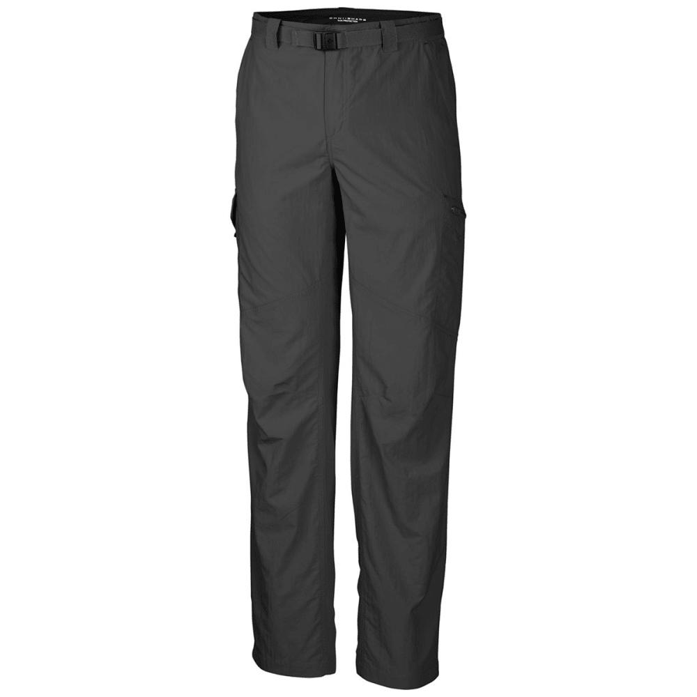 Columbia Men's Silver Ridge Cargo Pants - Black, 30/R