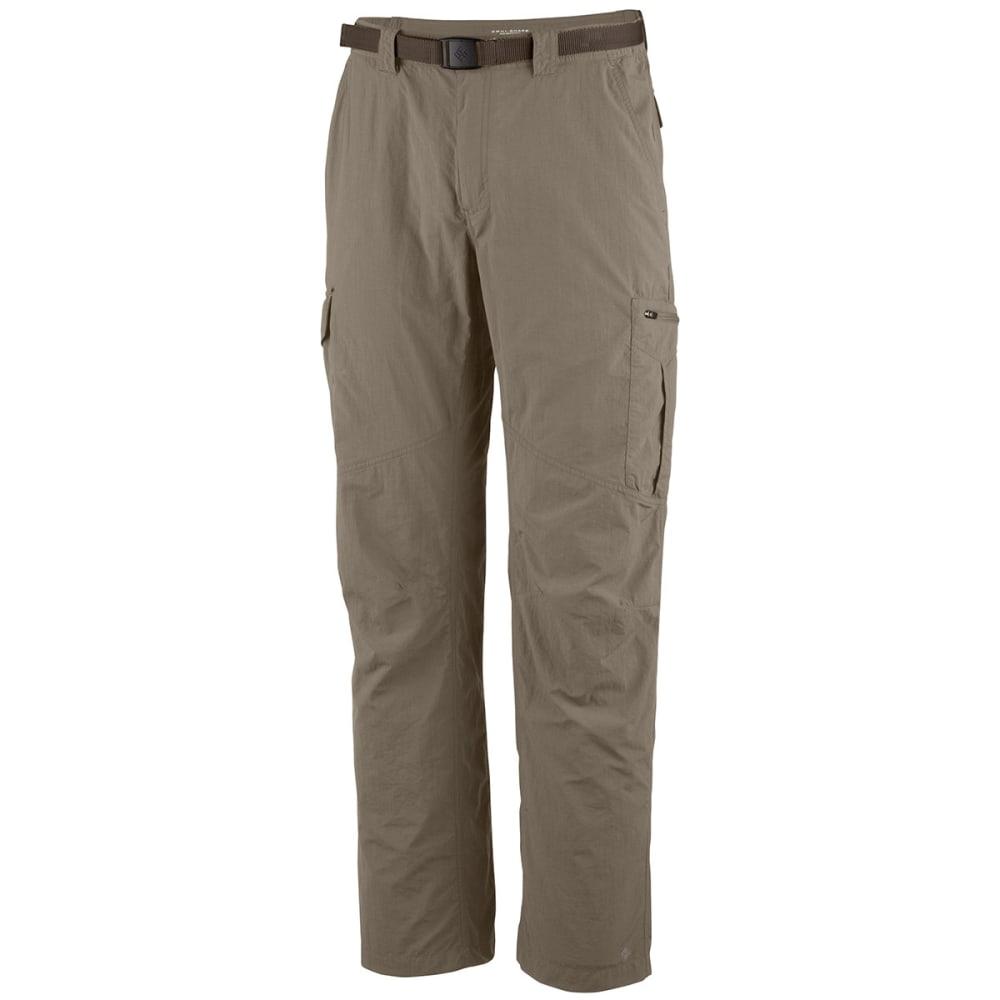 Columbia Men's Silver Ridge Cargo Pants - Brown, 30/R