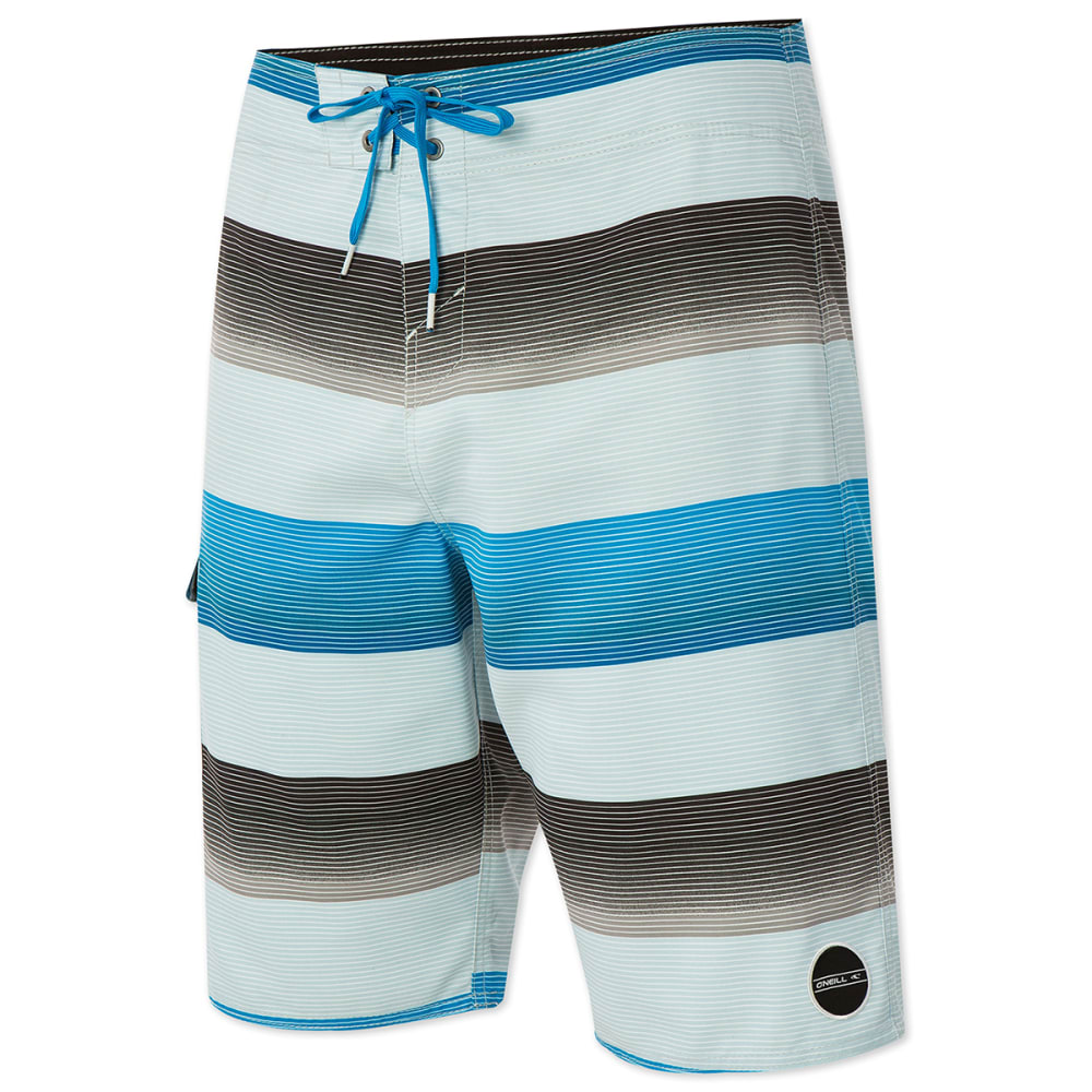 O'NEILL Men's Santa Cruz Stripe Boardshorts - BRIGHT BLUE