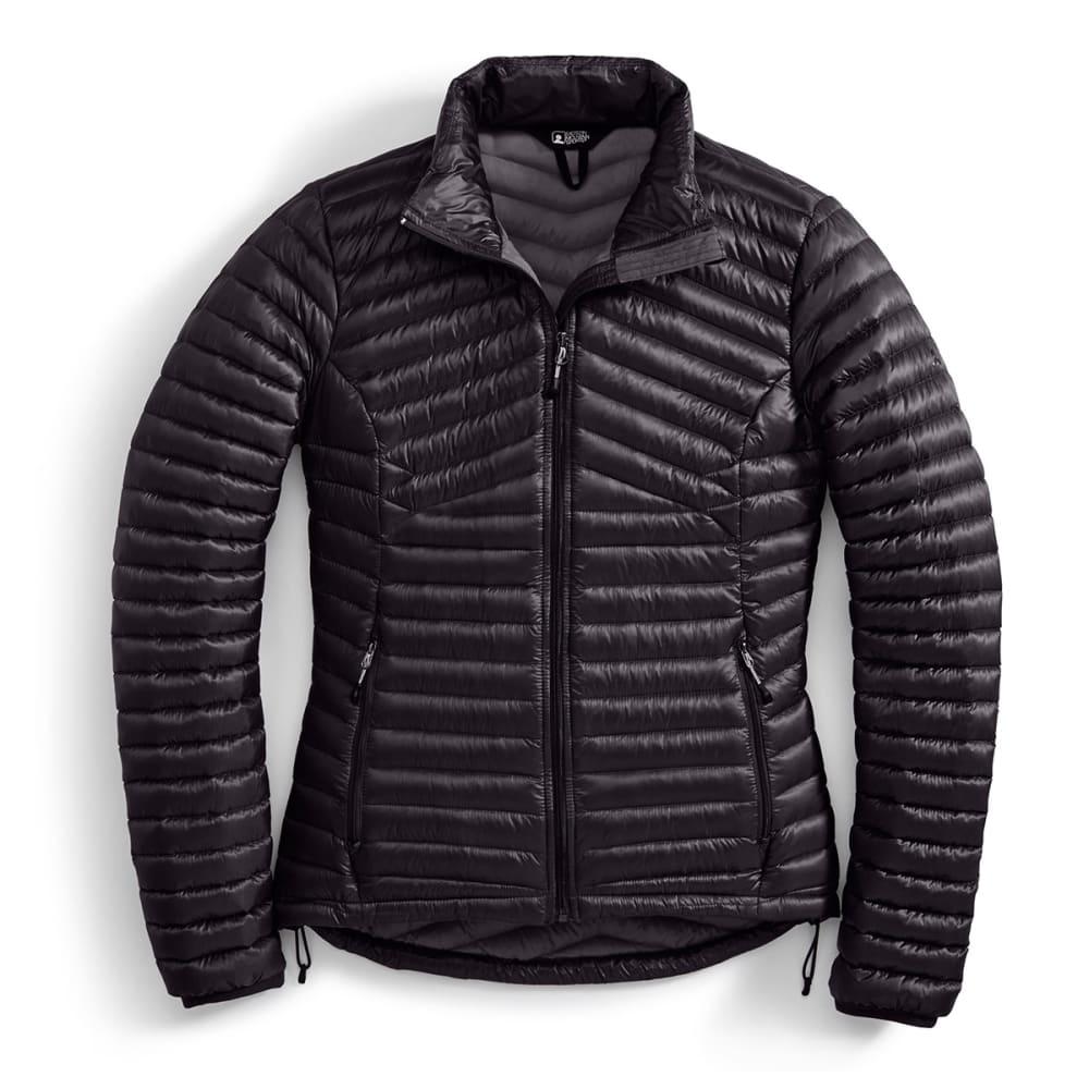 EMS Women's Feather Pack 800 Downtek Jacket, past season - JET BLACK