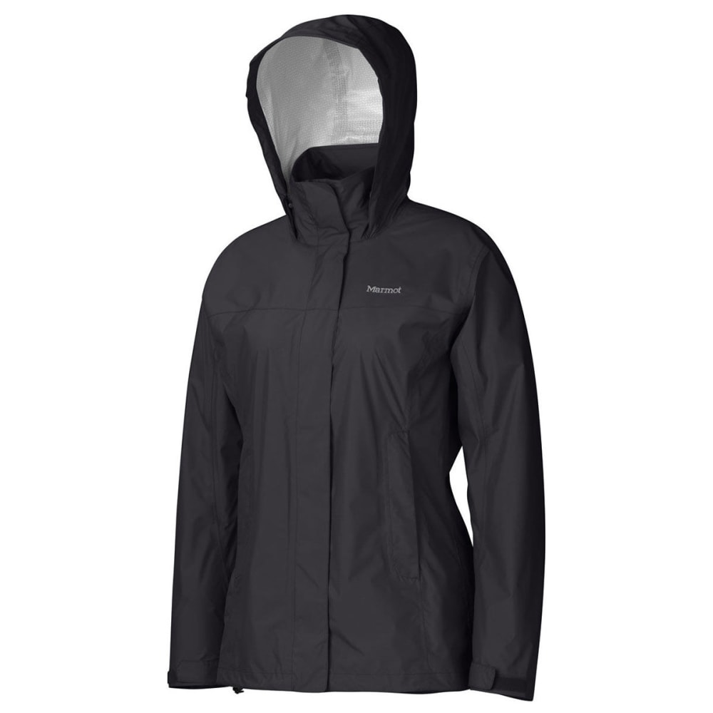 MARMOT Women's PreCip Jacket - 001-BLACK