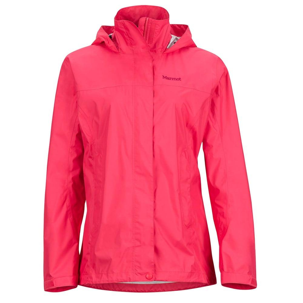 MARMOT Women's PreCip Jacket - 6205-HIBISCUS