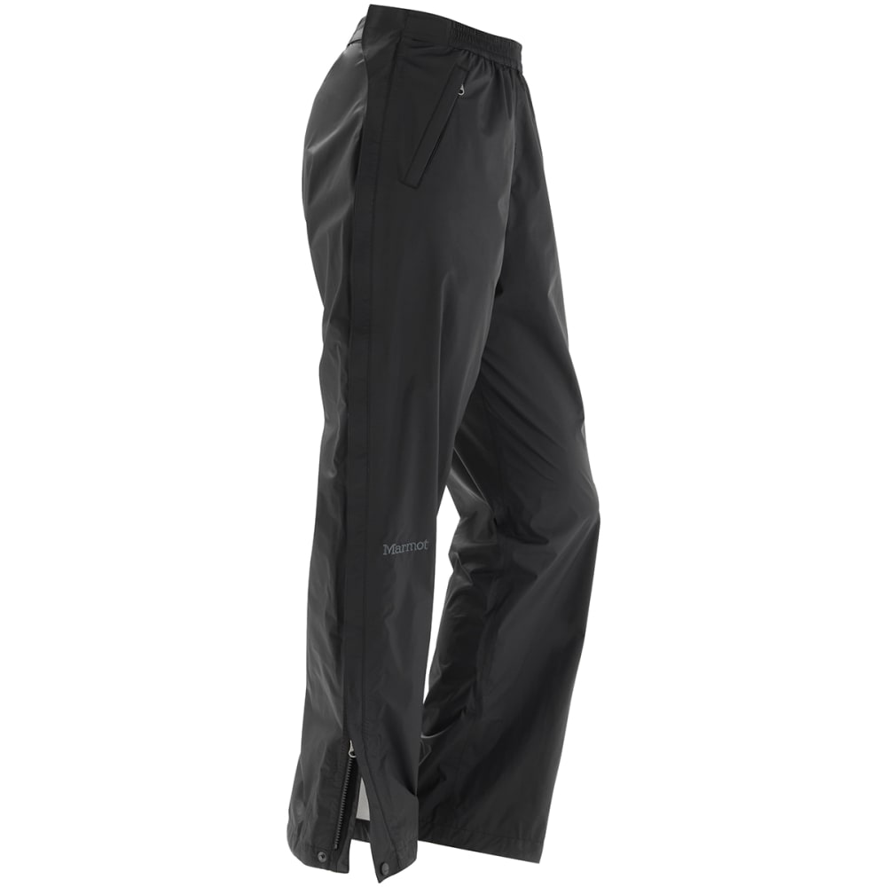 Marmot Women's Precip Full-Zip Pants - Black, XL