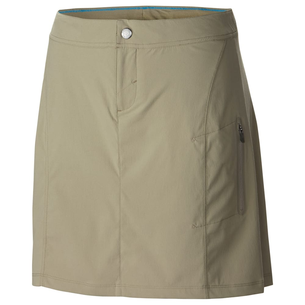 COLUMBIA Women's Just Right Skort - 221-TUSK