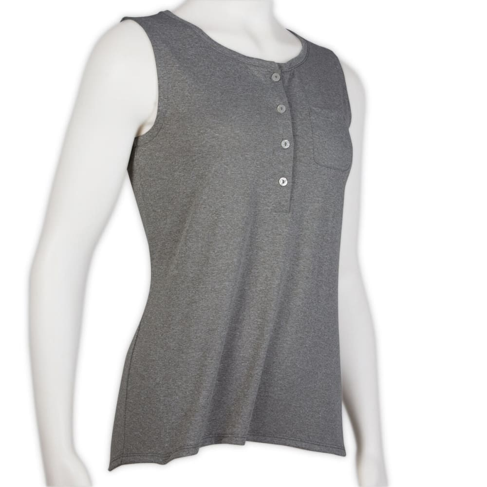 DNU - EMS Women's Compass Tech Tank Top - LIGHT GREY