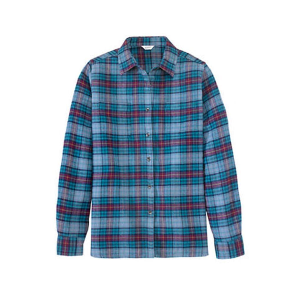 WOOLRICH Women's Pemberton Flannel Shirt - NOCTURNAL