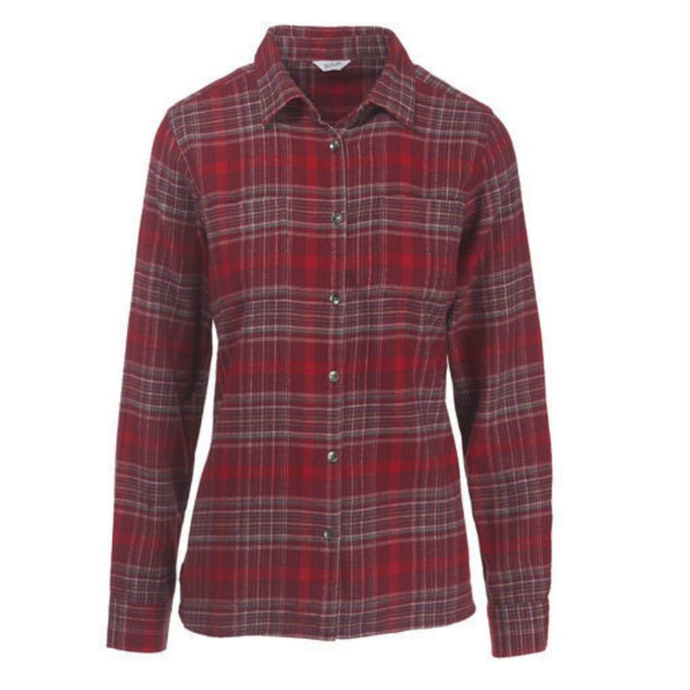 WOOLRICH Women's Pemberton Flannel Shirt - WINE