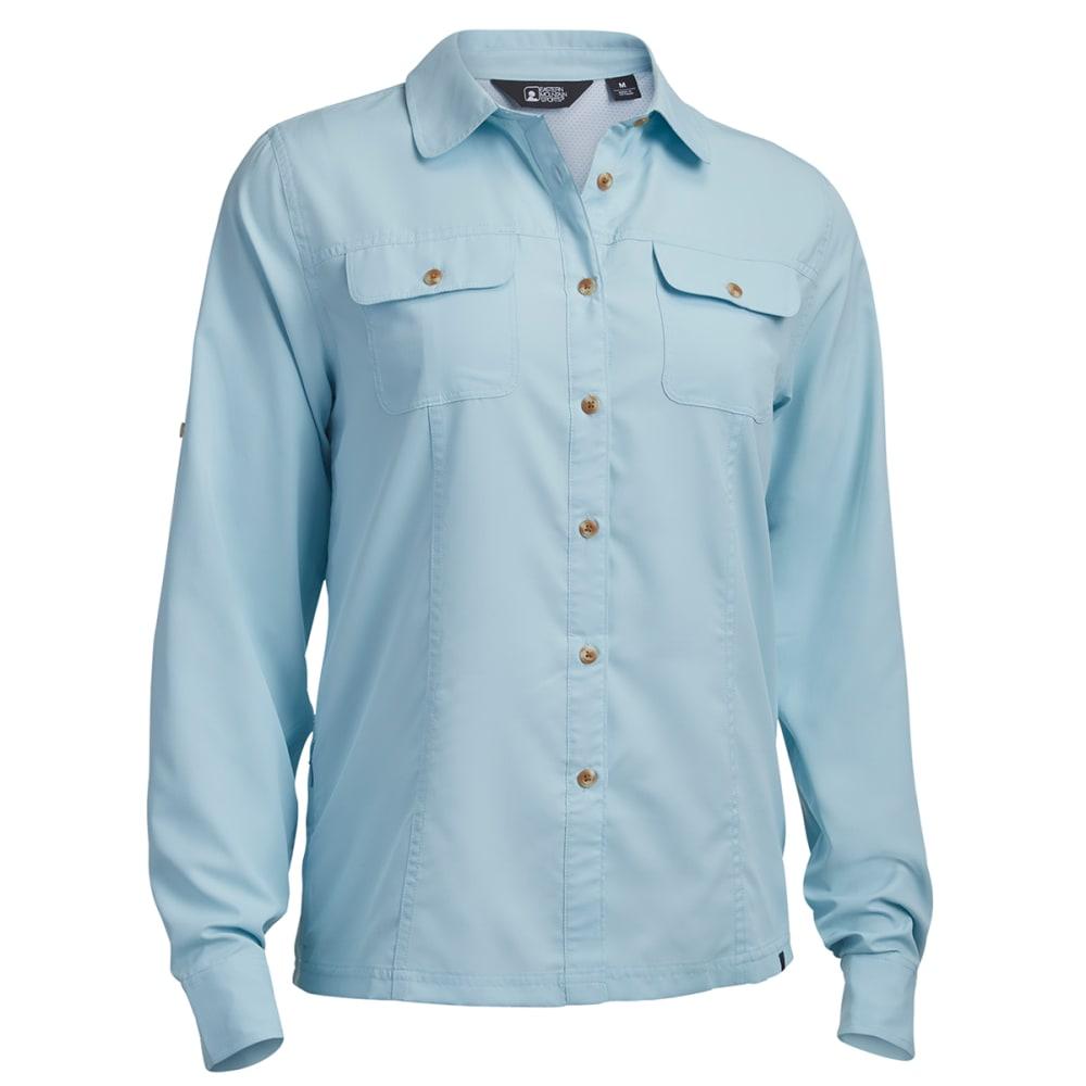 EMS Women's Compass UPF Long-Sleeve Shirt - CORYDALIS BLUE