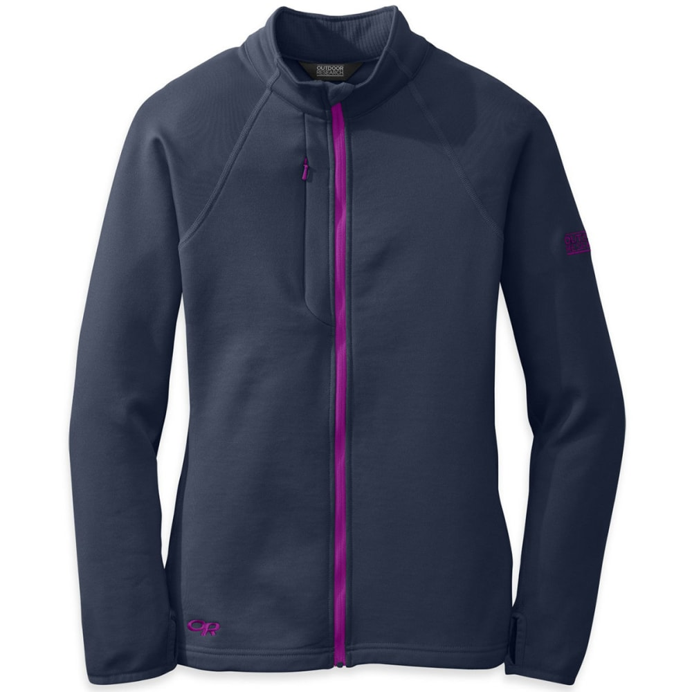 OUTDOOR RESEARCH Women's Radiant Hybrid Jacket - NIGHTSHADE