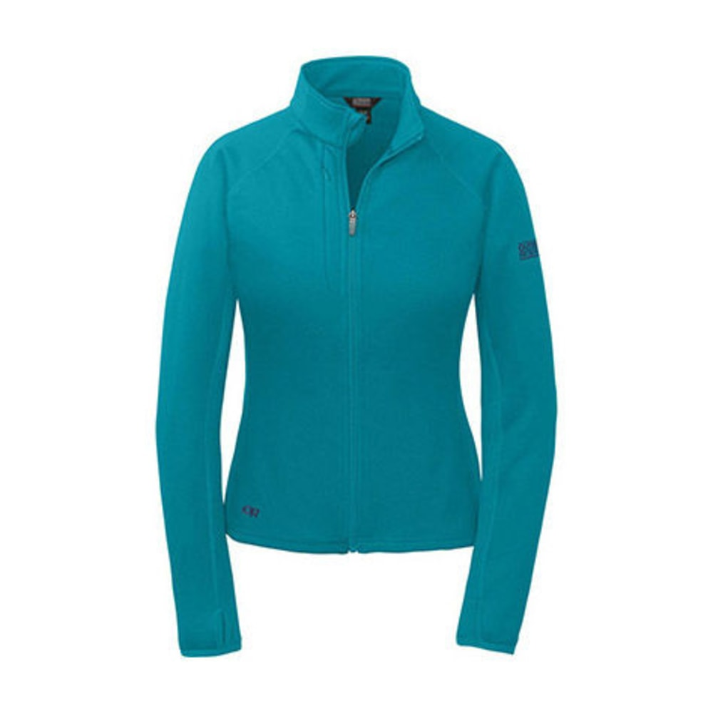 OUTDOOR RESEARCH Women's Radiant Hybrid Jacket - ALPINE LAKE