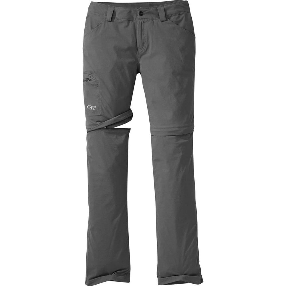 OUTDOOR RESEARCH Women's Equinox Convertible Pants - CHARCOAL