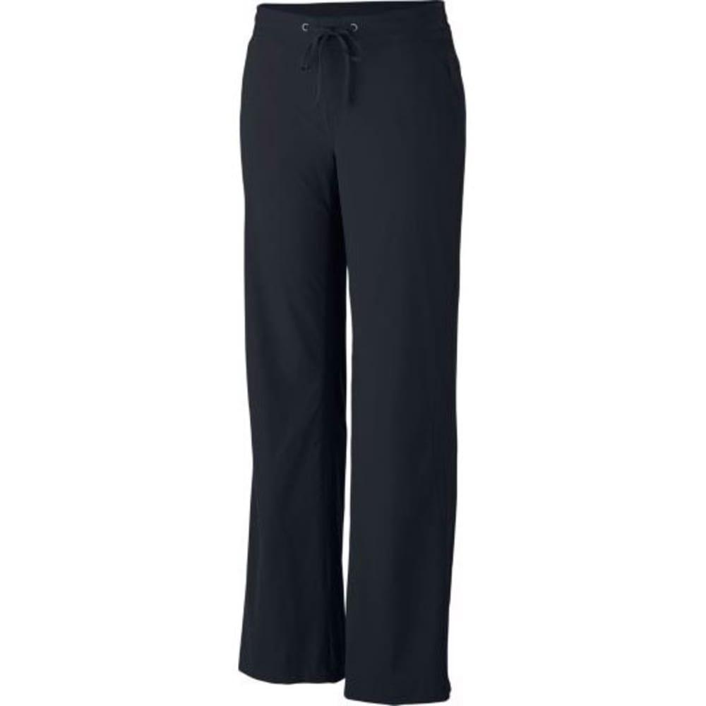 COLUMBIA Women's Anytime Outdoor Full Leg Pants - 010-BLACK