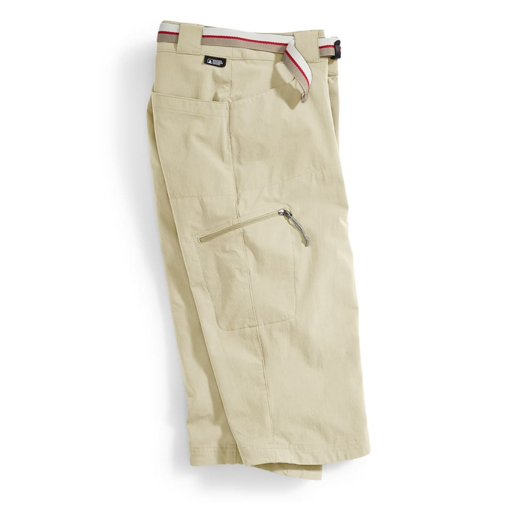 EMS Women's Compass Trek Capri Pants - WHITE PEPPER