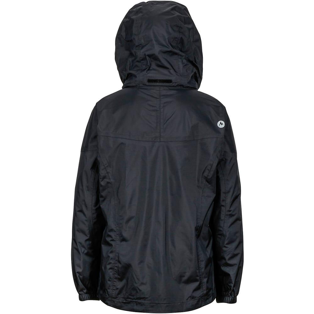 MARMOT Girls' PreCip Rain Jacket - BLACK
