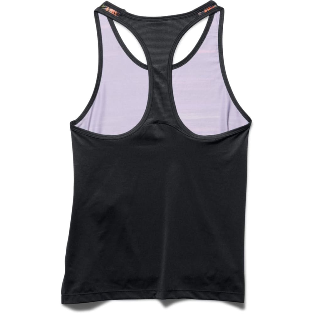 UNDER ARMOUR Girls' Luna Tank - BLACK