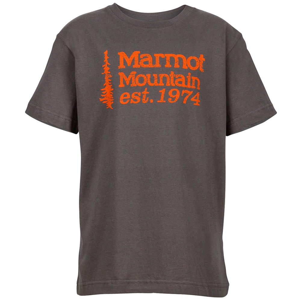 Marmot Boys' 74 Graphic Tee - Black, M