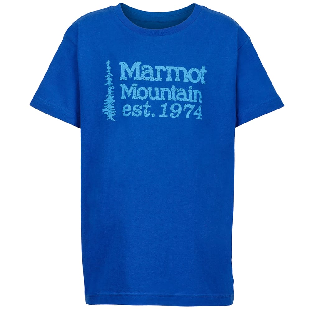 Marmot Boys' 74 Graphic Tee - Blue, M