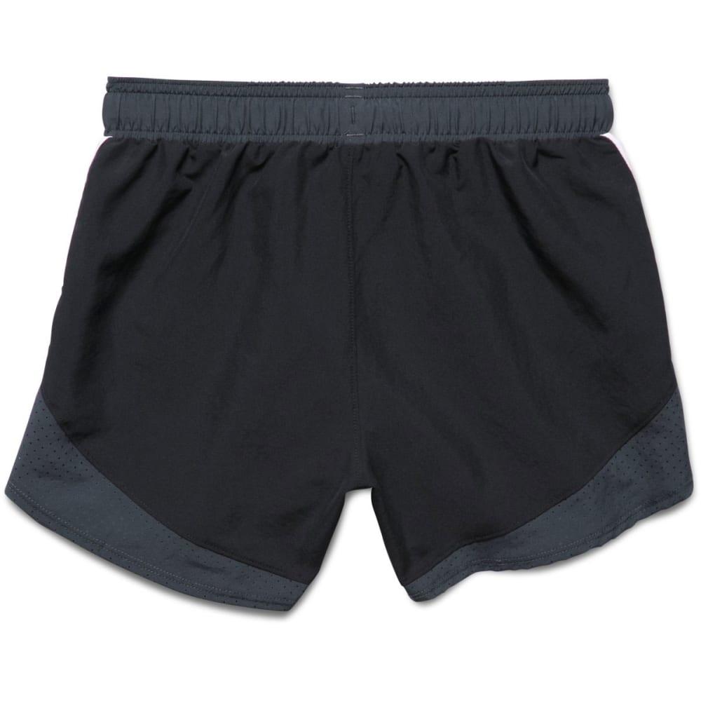 UNDER ARMOUR Girls' Fast Lane Shorts - BLACK