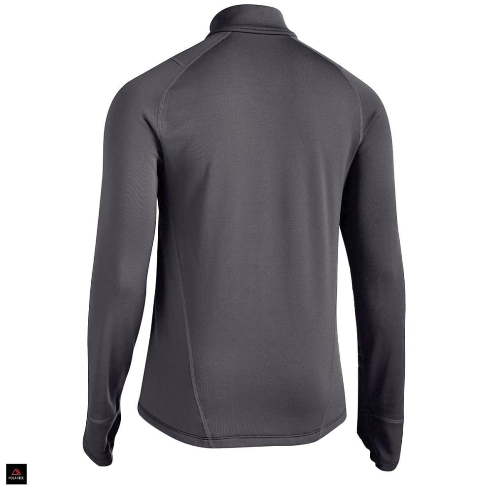 EMS Men's Techwick Heavyweight ¼ Zip Baselayer - JET BLACK