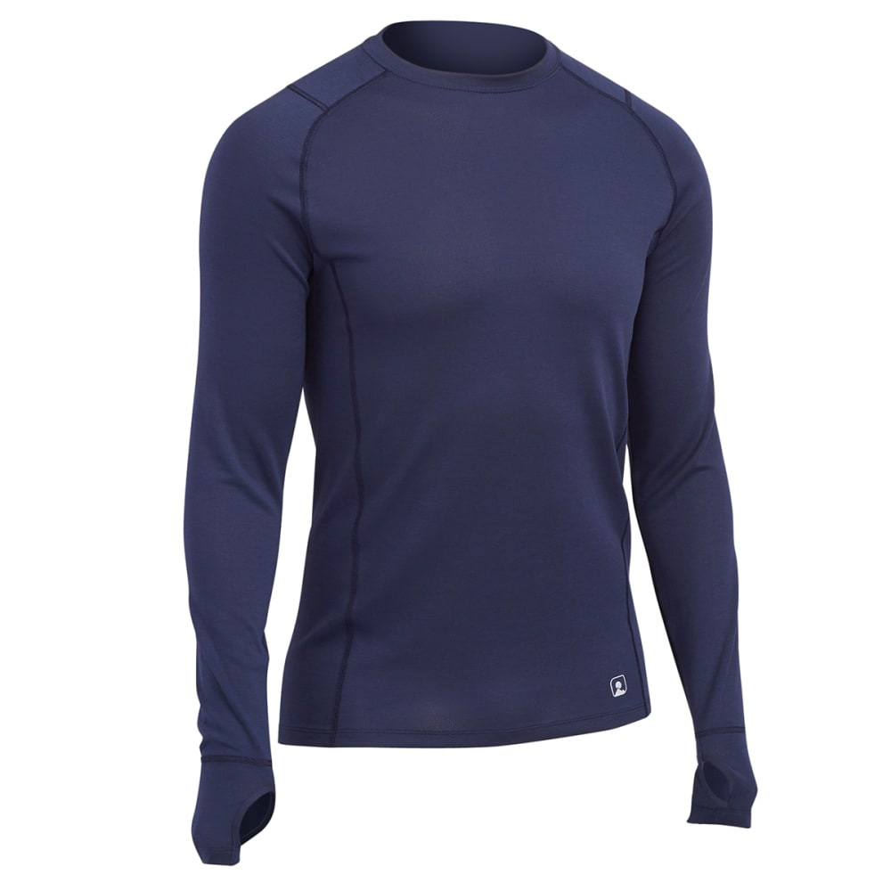 EMS® Men's Techwick® Midweight Long-Sleeve Crew Baselayer  - PEACOAT