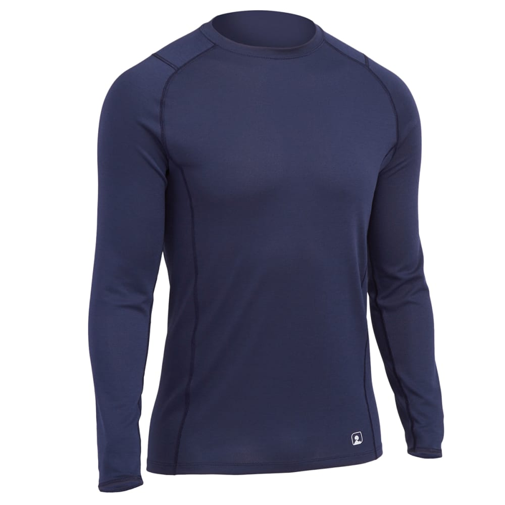 Ems(R) Men's Techwick(R) Midweight Long-Sleeve Crew Baselayer  - Blue, S