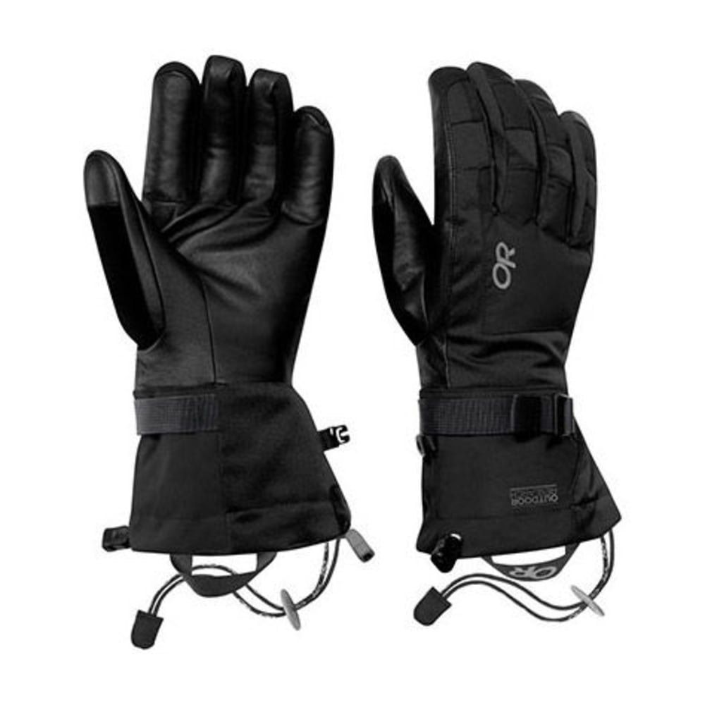 OUTDOOR RESEARCH Men's Revolution Gloves - BLACK