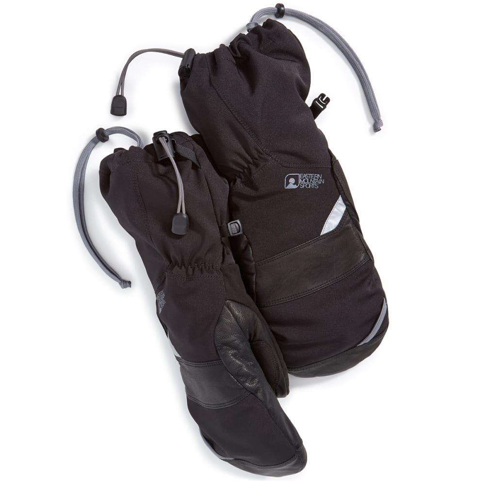 EMS Men's Summit Mitten - JET BLACK