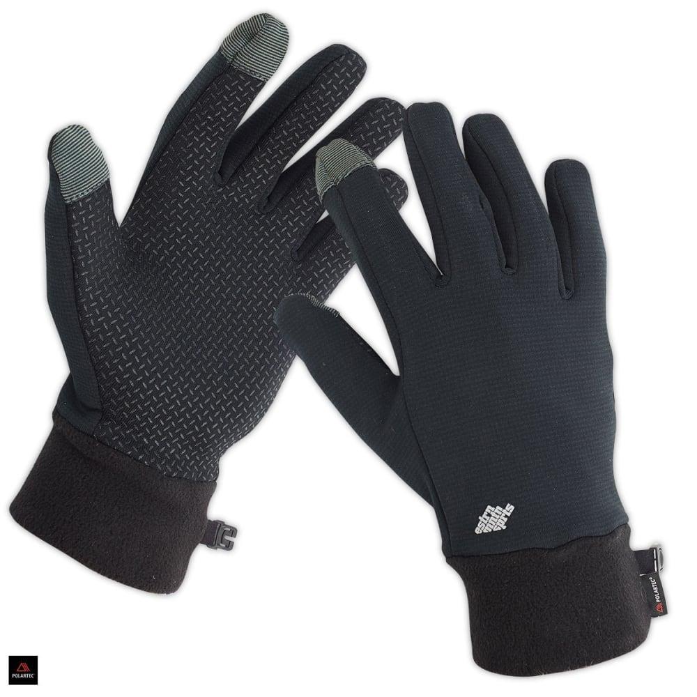 EMS Men's Wind Pro Touchscreen Gloves - BLACK