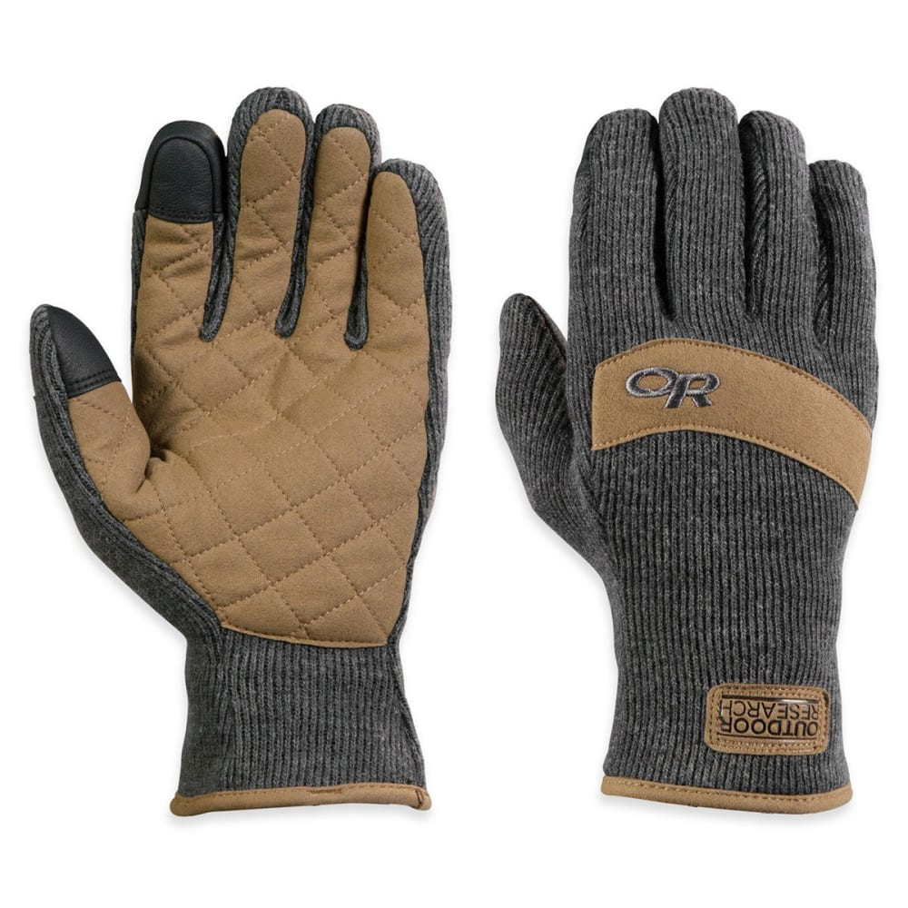 OUTDOOR RESEARCH Men's Exit Sensor Gloves - CHARCOAL
