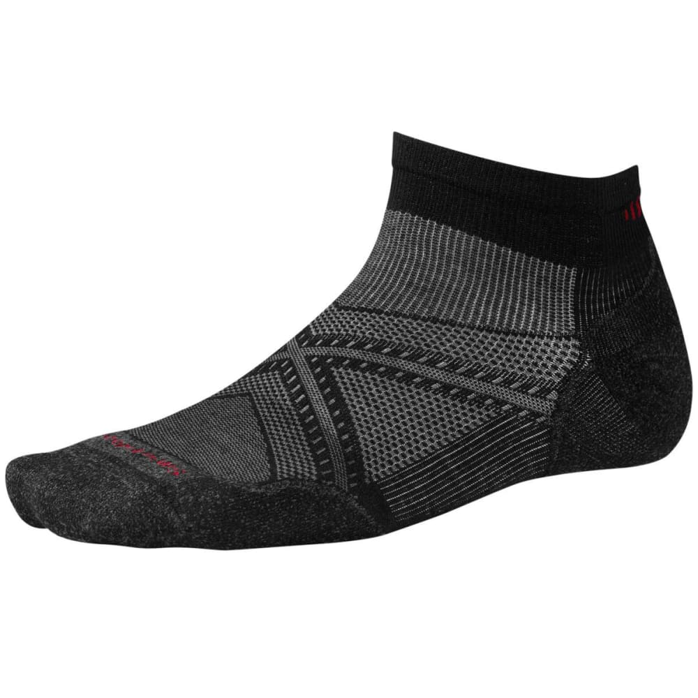 SMARTWOOL Men's PhD Run Light Elite Low-Cut Socks - BLACK 001