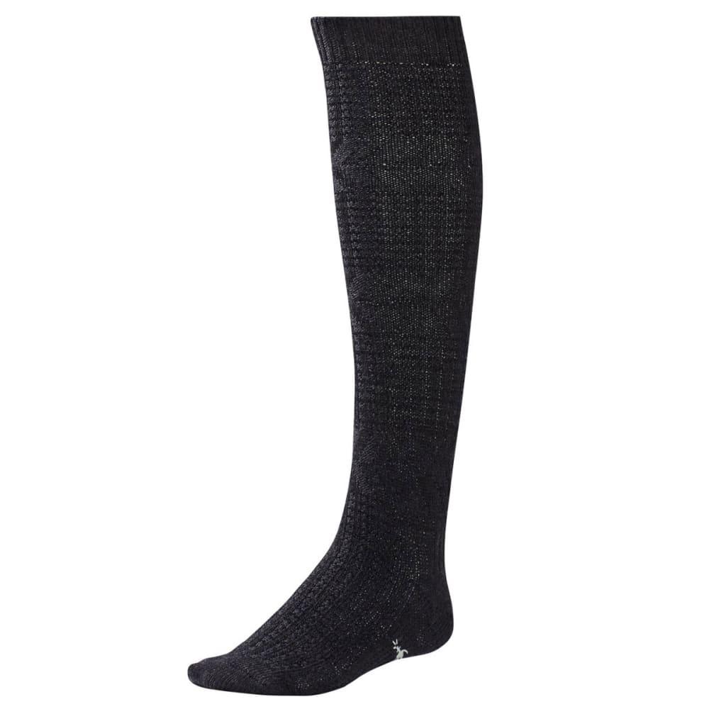 SMARTWOOL Women's Wheat Fields Knee-High Socks - CHARCOAL