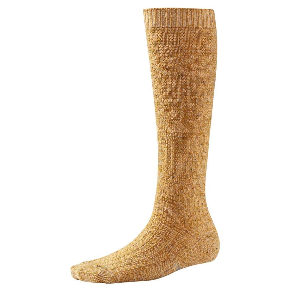 SMARTWOOL Women's Wheat Fields Knee-High Socks - SUNGLOW HEATHER