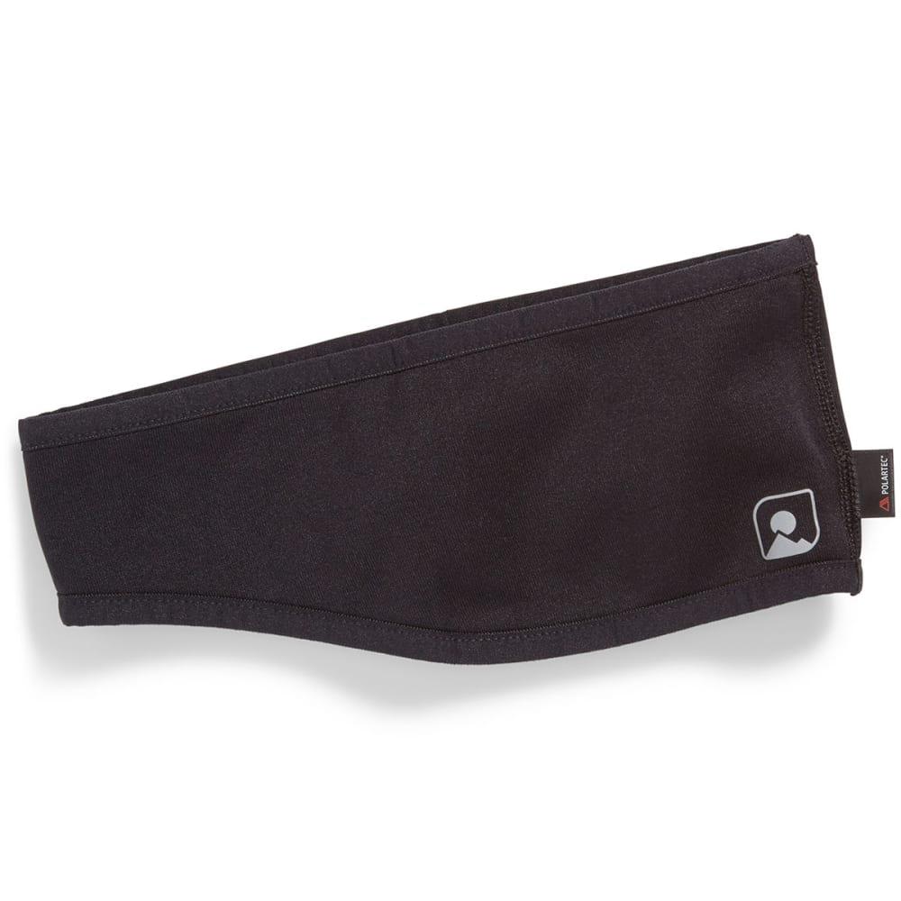 EMS Power Stretch Headband - JET BLACK