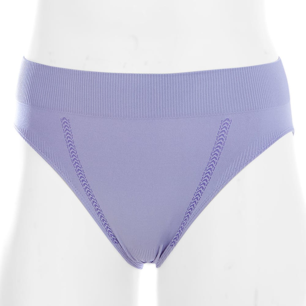 Ems(R) Women's Seamless Feather High-Rise Brief  - Purple, XS