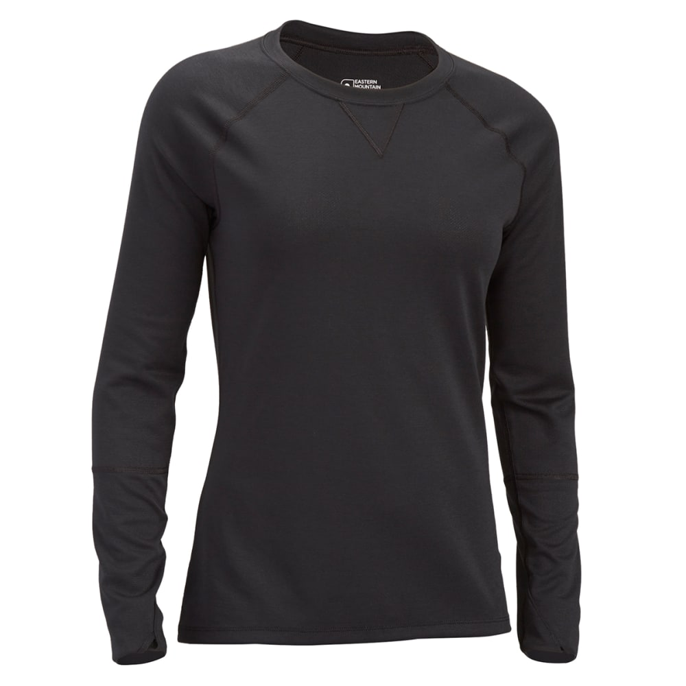 EMS Women's Techwick Midweight Long-Sleeve Crew Baselayer S
